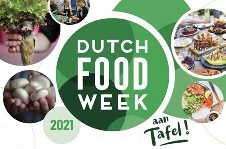 Dutch Food Week 2021 - aan tafel